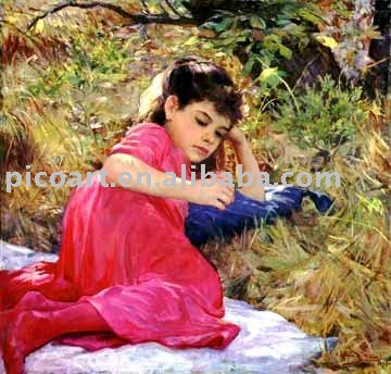 reproduction painting with high quality