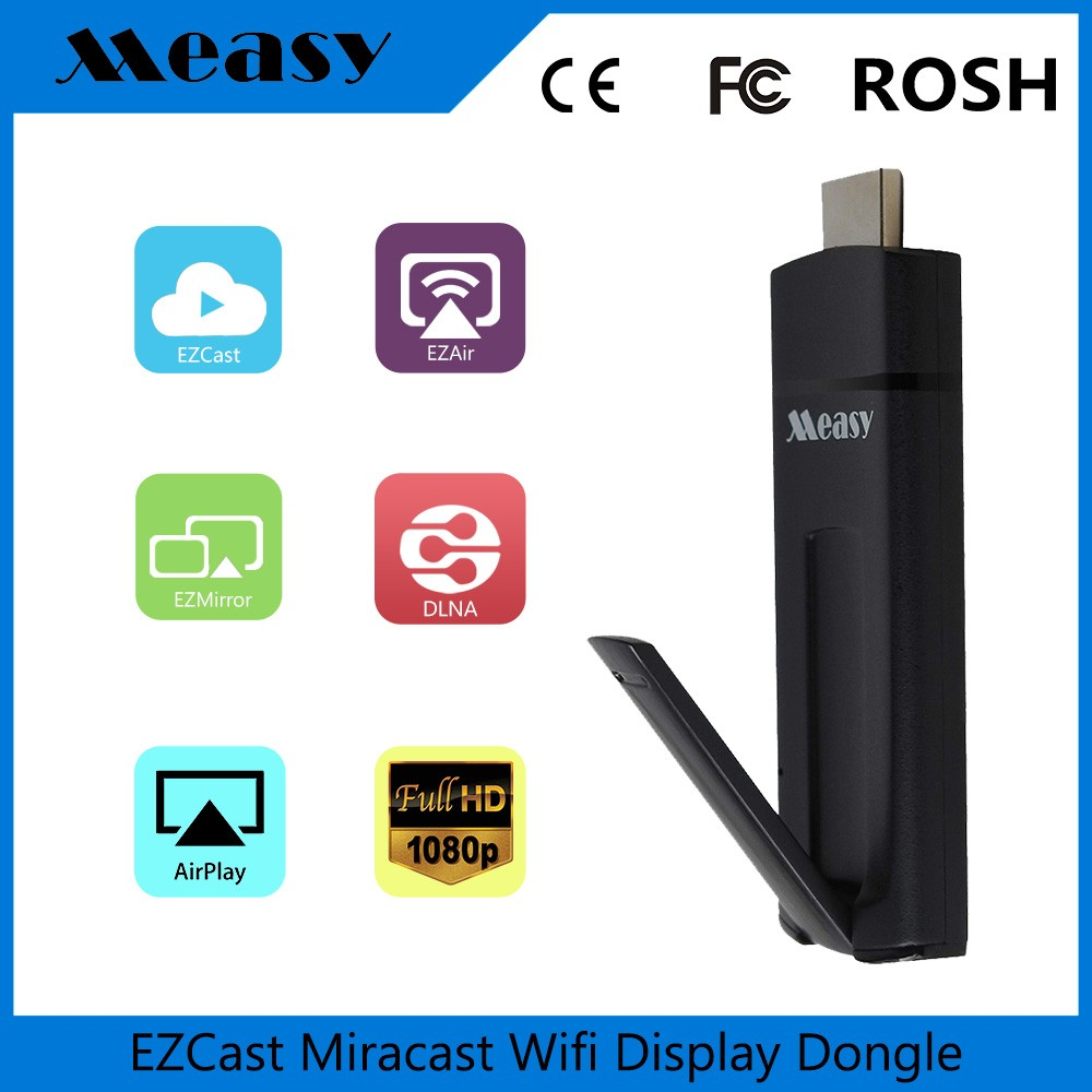 2016 Measy A2W II google Kodi xbm display chromecast ezcast smart internet <strong>tv</strong> streaming <strong>dongle</strong> android <strong>tv</strong> <strong>stick</strong>