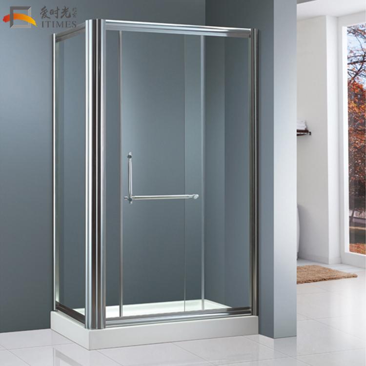 China Custom Frameless 4 Sided Square Shower Enclosures 3 Doors ...