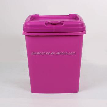 15kgs25kgs40l50l Capacity Food Grade Plastic Large Airtight Pet