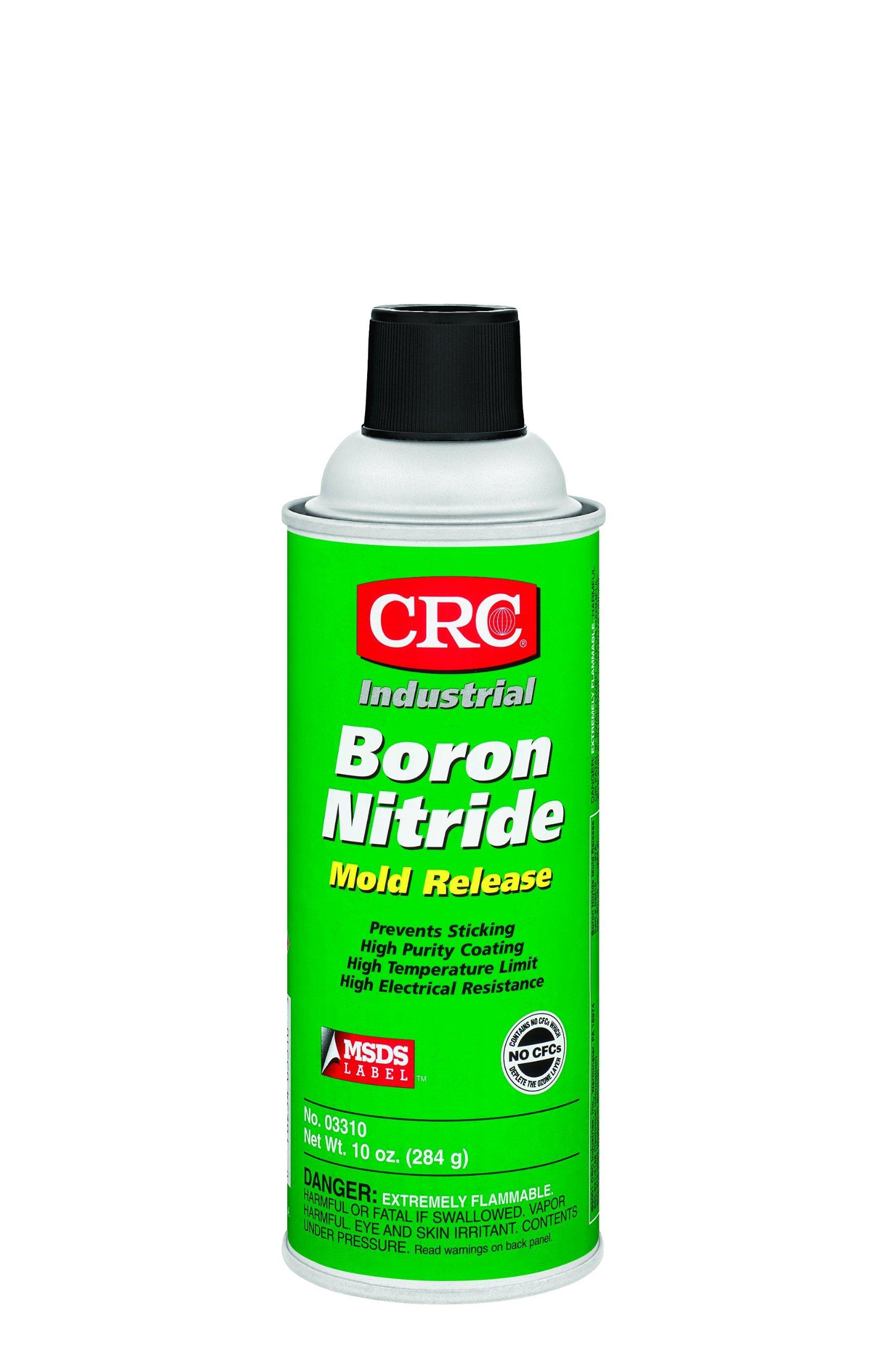 CRC 03310 Boron Nitride Mold Release (Net Weight: 10 oz.) 16 oz. Aerosol Spray