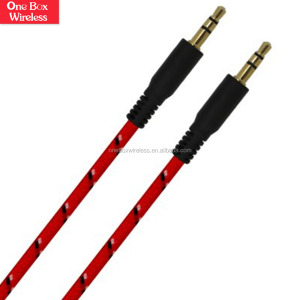 Wholesale Alibaba for Smartphone Tablet MP3 Player DVD TV Male to Male 3.5mm Aux Stereo Jack Cable