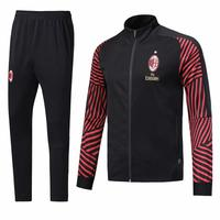 2018-2019 NEW SEASON AC MILAN SOCCER TRACKSUIT UNIFORM AND JACKET