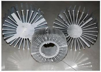 Aluminum Heat Sink Led Manufacturer Round Heat Sink