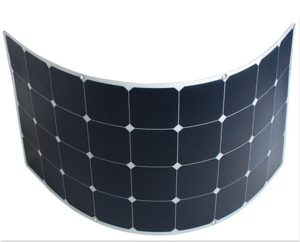 Hot Sell And Low Price Flexible Home Solar Panels Parts Kit 120watt Monocrystalline