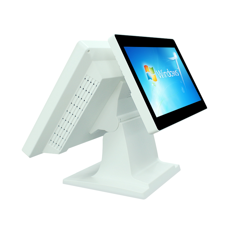 True Flat Touch Double Screen Retail POS system All in One POS Terminal BVS-SW1502