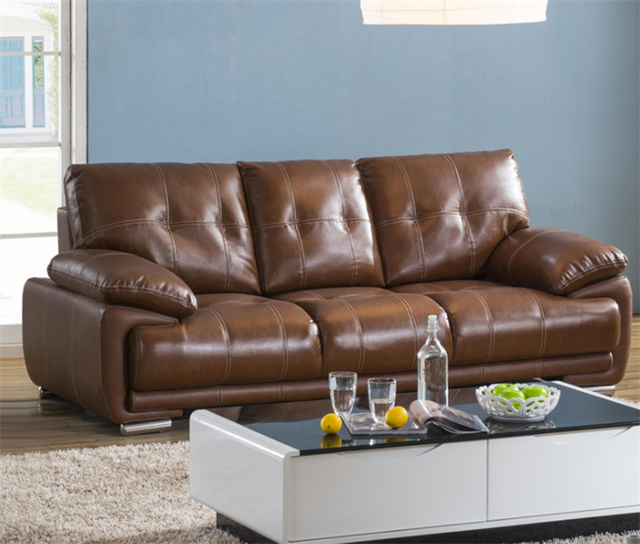 Best Price Of Modern Leather Sofa Designs For Drawing Room