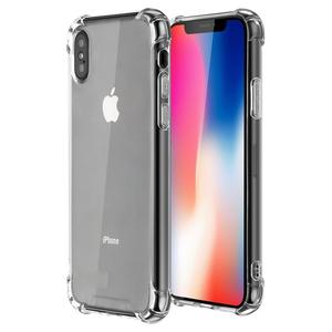 Shockproof Transparent Silicone TPU Phone Cases for iPhone X
