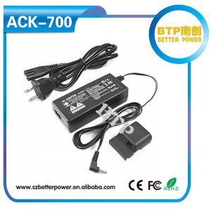 for canon EOS 350D 400D battery NB-2LH replacement power supply kit ACK-700 ac adapter