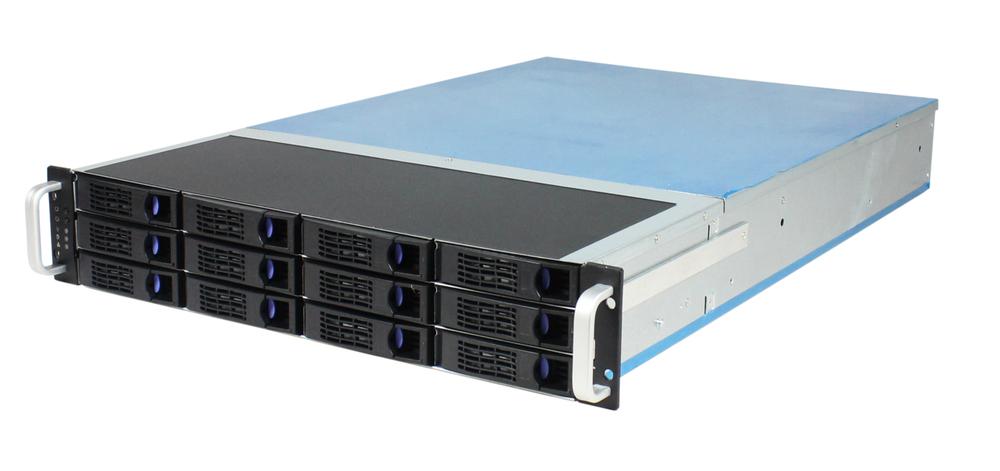 2u Hotswap Server Case 12bays Storage Rackmount Chassis Computer ...