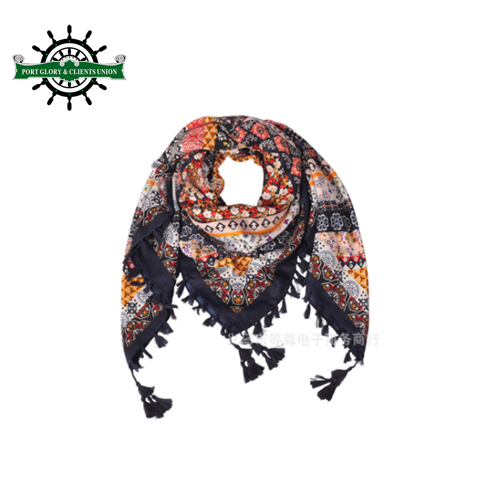 Factory custom jacquard india pashmina scarf