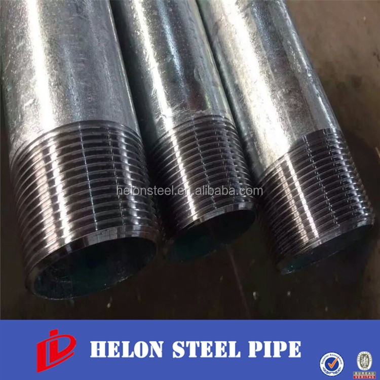 Alibaba Global Trade Q235 SS400 Steel Threaded Galvanized Pipe DN32 National Pipe Thread 005