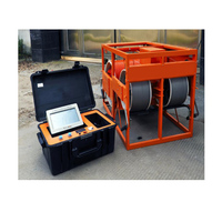 Bored Concrete Pile Tester and Pile Detector Testing Diameter Plumb Rate Expanding Shrinkage Position Dip Direction