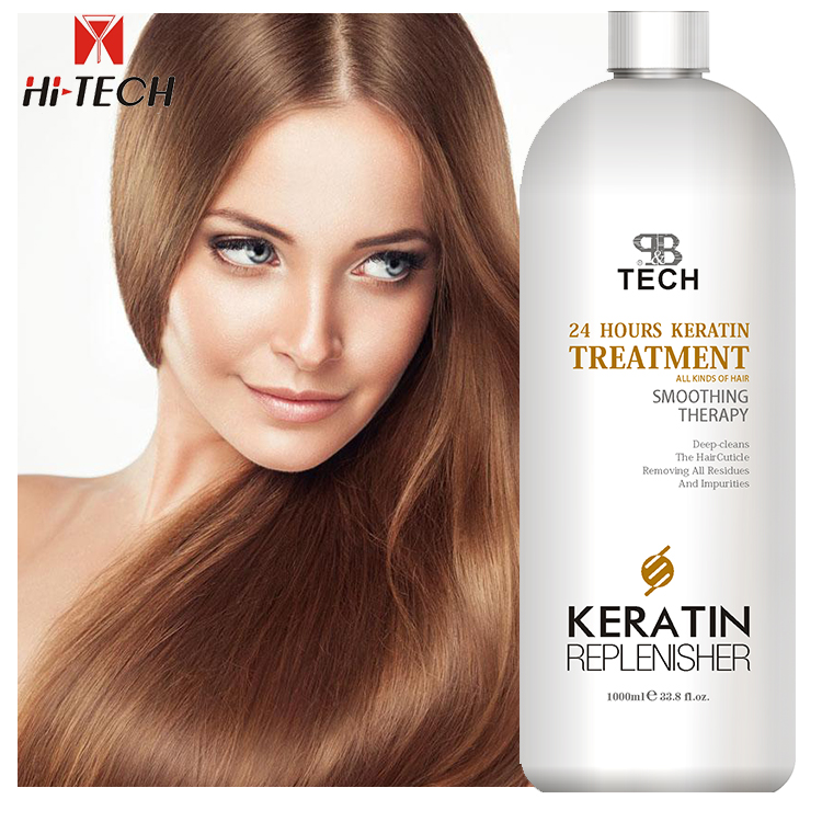 Professional hair straight golden straightening cream Brazilian keratin treatment