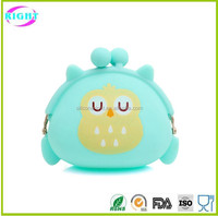 silicone smart woman wallet small coin purse