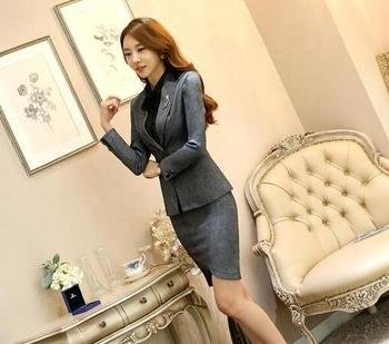 Spring Style Women Slim Fit One Button Casual Suit Jacket Peplum Blazer 1a4aeb6e6