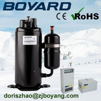 Lanhai boyang brand air conditioner 1.5 ton rotary compessor rechi for r22 air cooled split type air conditioner