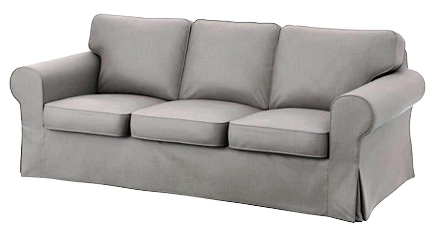 Ikea Ektorp 3 Seat Sofa Cotton Cover Replacement Is Custom Made Slipcover  For IKea Ektorp Sofa