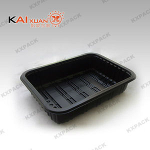 Microwavable PP Material Food Packaging Tray