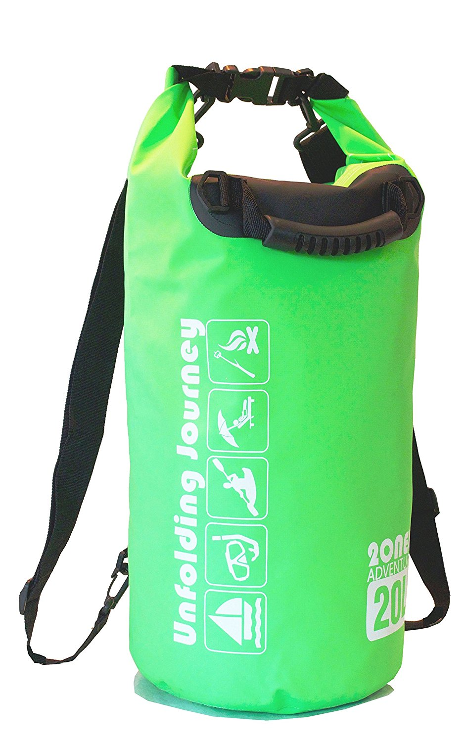 Get Quotations · Waterproof Dry Bag Backpack- 20L Green 79d63c568fb57