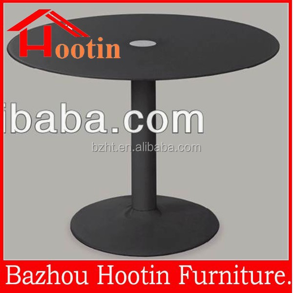 hot sale modern round tempered glass coffee table