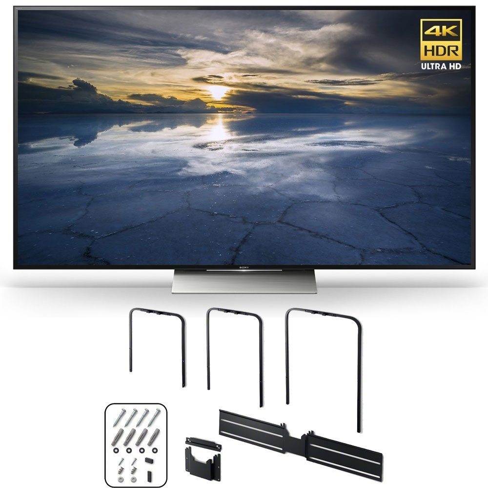 Sony XBR-55X930D 55-Inch Class 4K HDR Ultra HD TV w/ SU-WL810 Slim Wall-Mount Bracket Bundle