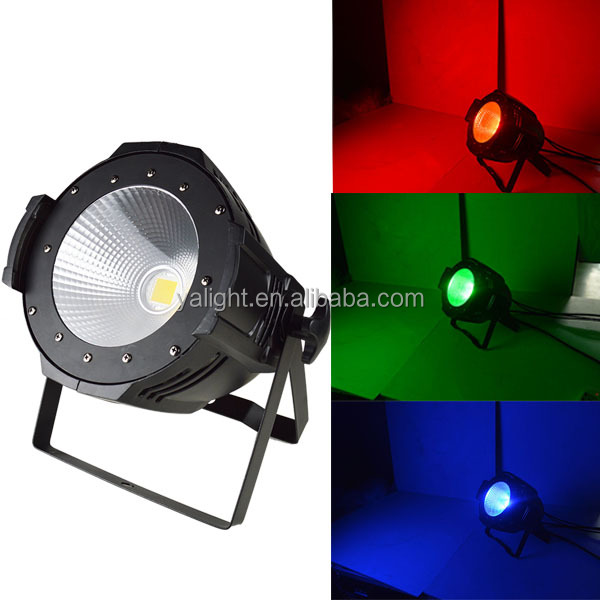 rgb cob led par 100w led COB 100W stage par light RGB led stage spot par64 lighting