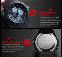 Skmei S Shock Watch Instructions,Analog Digital Dual Time Watches ...