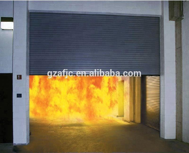 fire rated steel roller shutter door,180mins fire resistant door shutter, roll up steel door