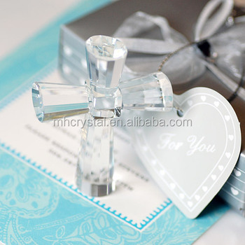 Religious Crystal Cross The Wedding Gifts Mh-15028 - Buy Useful ...