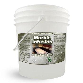 Natural Commercial Marble Granite Sealer and Countertop Sealer - Marble Infusion 5 Gallon