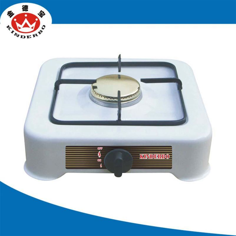 1 burner good market table gas cooker with cover