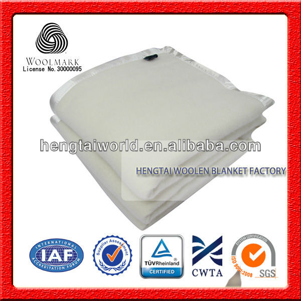 No.1 China Blanket Factory Top Quality 100% Merino Wool Blanket ...