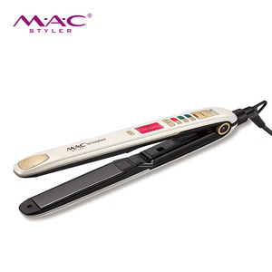 Wholesale hot sales fashion Titanium plate professional flat irons wholesale hair straightener