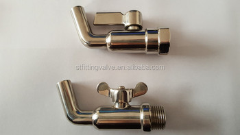 Polished Stainless Steel Faucet, Tap With Rotating Handle 304/316