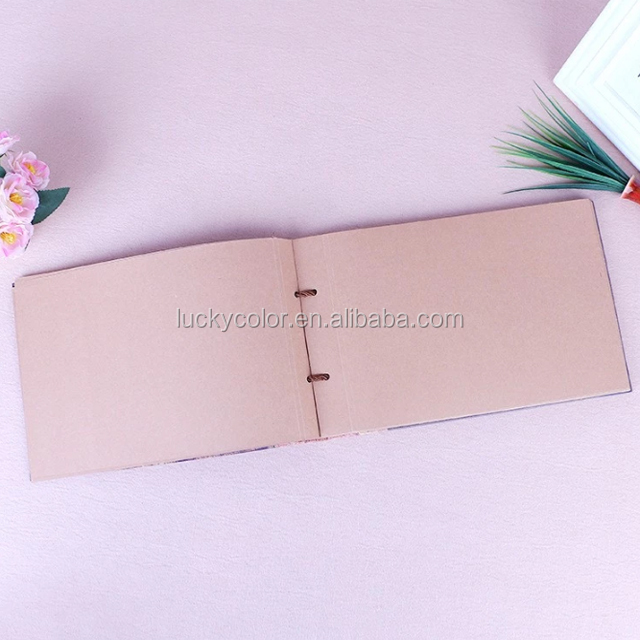 Printing Manually paste recorded children photo paper diy photo album
