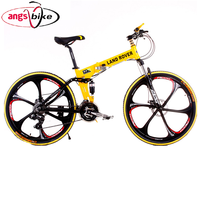 21 speed Land Rover bicycle Carbon Folding mountain bike