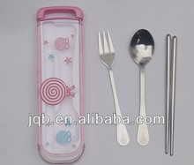 Baby cutlery stainless with box packing