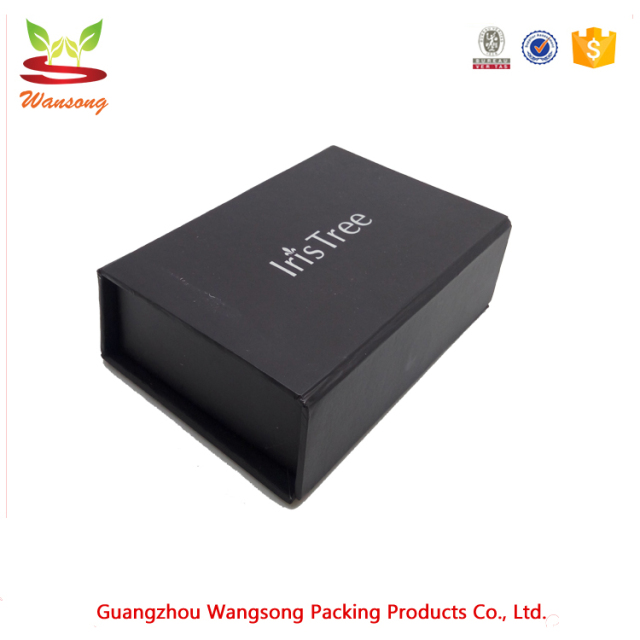 Buy cheap china packaging box for business cards products find wholesale custom magnetic lock rigid logo foil sliver black packaging paper boxmagnet closure cardboard reheart Gallery
