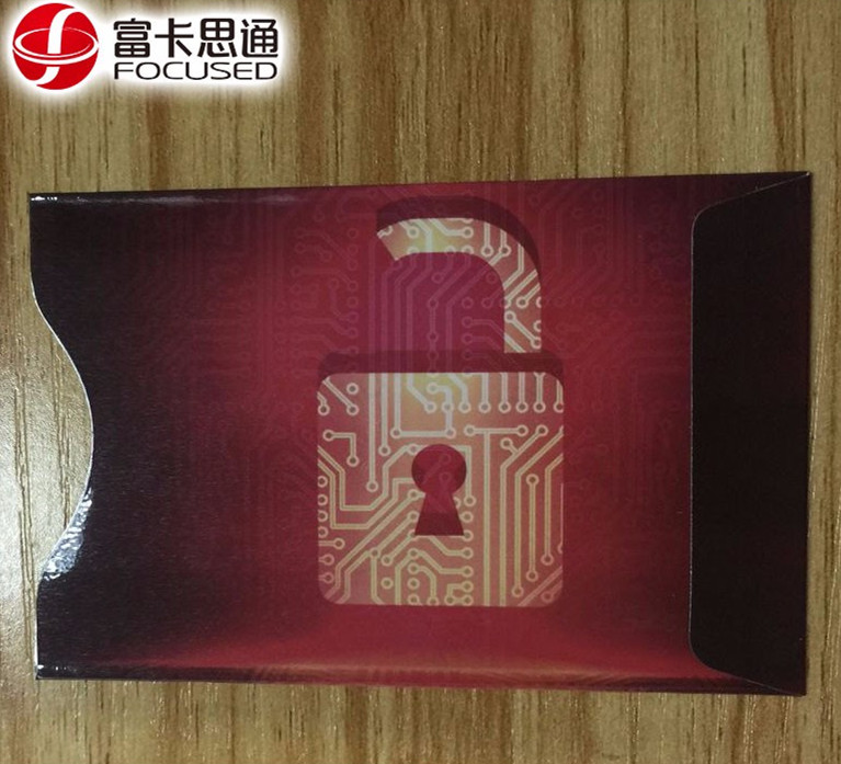 Anti Theft Credit Card Protector RFID Blocking Secure Aluminum Foil Sleeve Protect your money and ID
