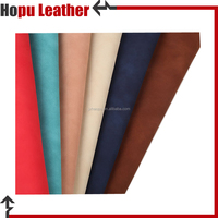 vegan faux leather raw material fabric wholesale for footwear