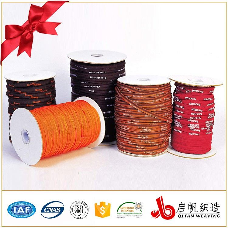 Garment nylon and polyester jacquard sewing elastic banding tape