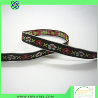 Top manufacturer provide woven jacquard ribbon for decoration