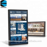 46inch WIfi poster frame restaurant equipment advertising hd media player indooradvertising machine china digital photo frame
