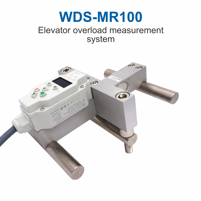 Elevator Weight Measuring Sensors and Lift Load Cell Control WDS-MR100 elevator overload measurement system