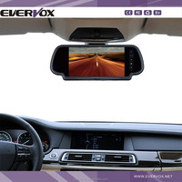 New Design 7 Inch Mirror Monitor for Back Up Car Camera for toyota