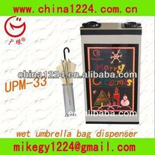 led electronic signboards Wet Umbrella Bag Dispenser small machine for bag opening