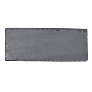 China factory direct Sale/100% Natural Black Slate/Customized WEDDING Gift Set with Slate Knife Chalk