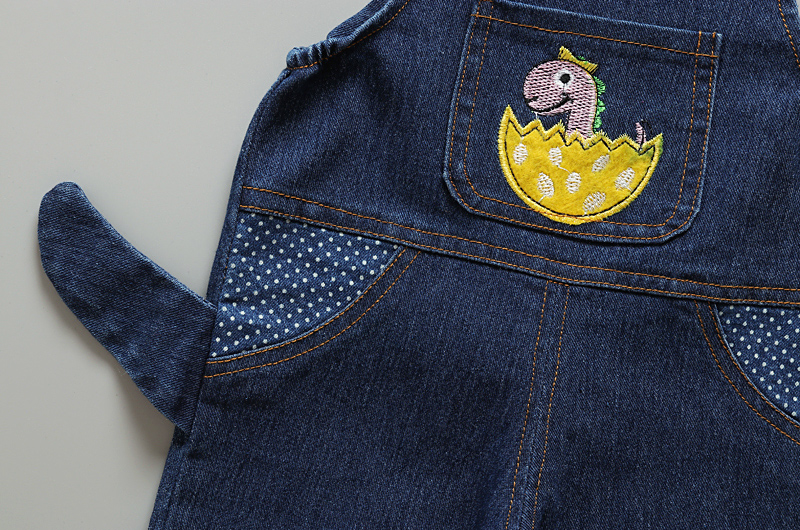 wholesale high quality cute dinosaur cowboy infant baby jumpsuit 2019 newborn baby clothes romper