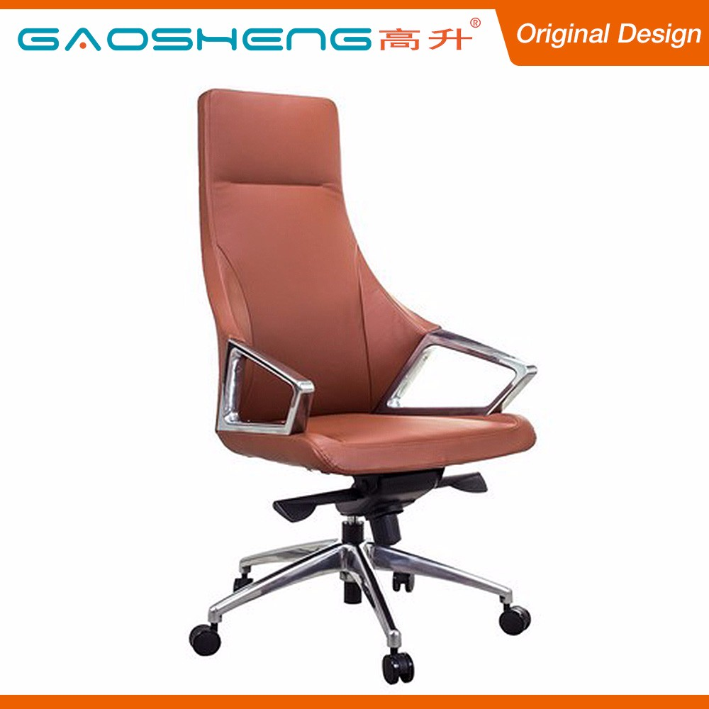 Competitive Price Vintage Genuine Leather Swivel Office Chair